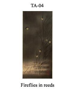 4-sozan-thumb-TA-04-Fireflies-and-reeds,-a-night-scene