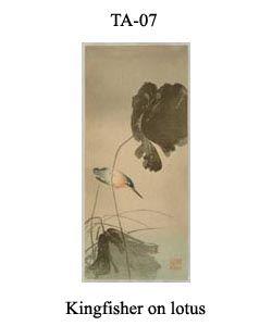 7-sozan-thumb-TA-07-Kingfisher-on-lotus