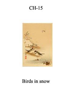 CH-15 Birds In Snow