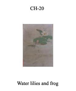 CH-20 Water Lilies And Frog
